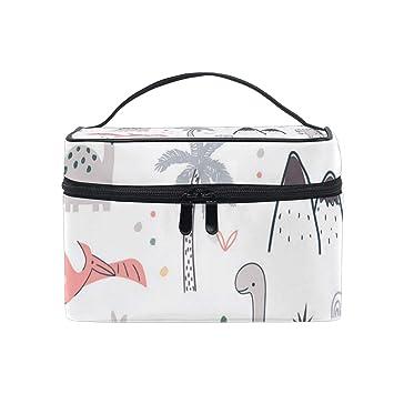 Amazon.com: Bolsas de maquillaje de viaje con dinosaurios y ...