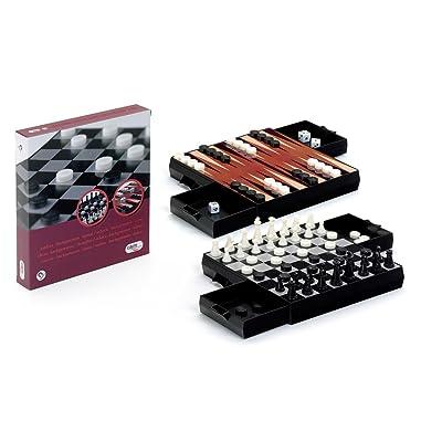 Cayro Ajedrez Damas - Backgammon Magne: Juguetes y juegos