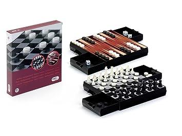 Cayro Ajedrez Damas - Backgammon Magne: Amazon.es: Juguetes ...