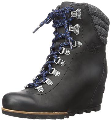 d5f6d996b12c5 Amazon.com | Sorel Women's Conquest Wedge Mid Calf Boot | Mid-Calf