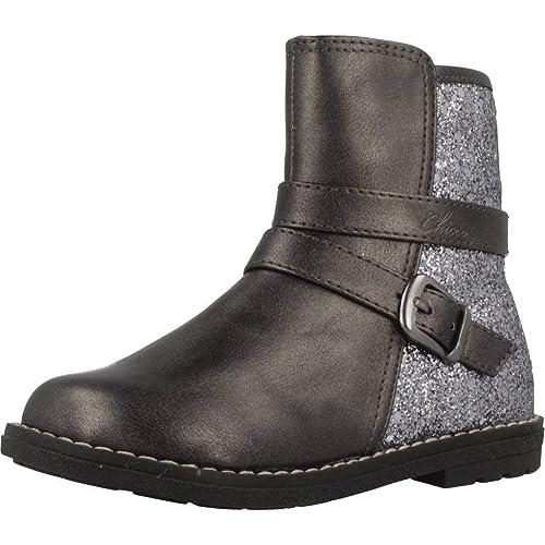 4b15402d9b775 Sintético Amazon Chicco es Complementos Talla Y Botín 30 Color Zapatos  Acero Caletta Niñas ffEr8w