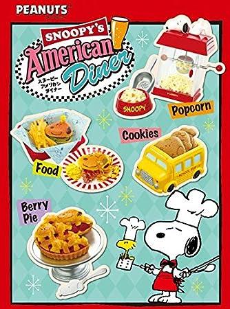 Sorpresa Diner Snoopy American Caja Comida Miniaturas Ment Re u3l1cTFKJ