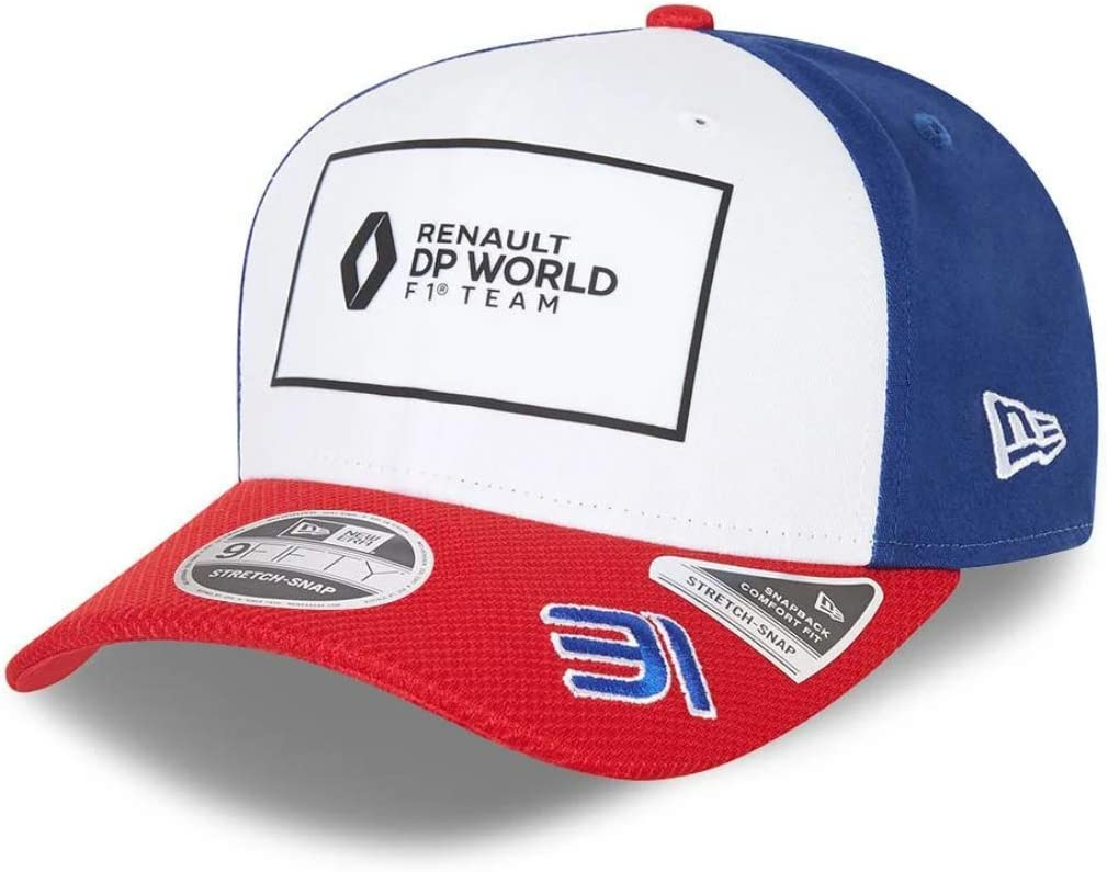 Renault DP World F1 Team New Era 9FIFTY Esteban Ocon Edition Sp/éciale France Casquette M//L
