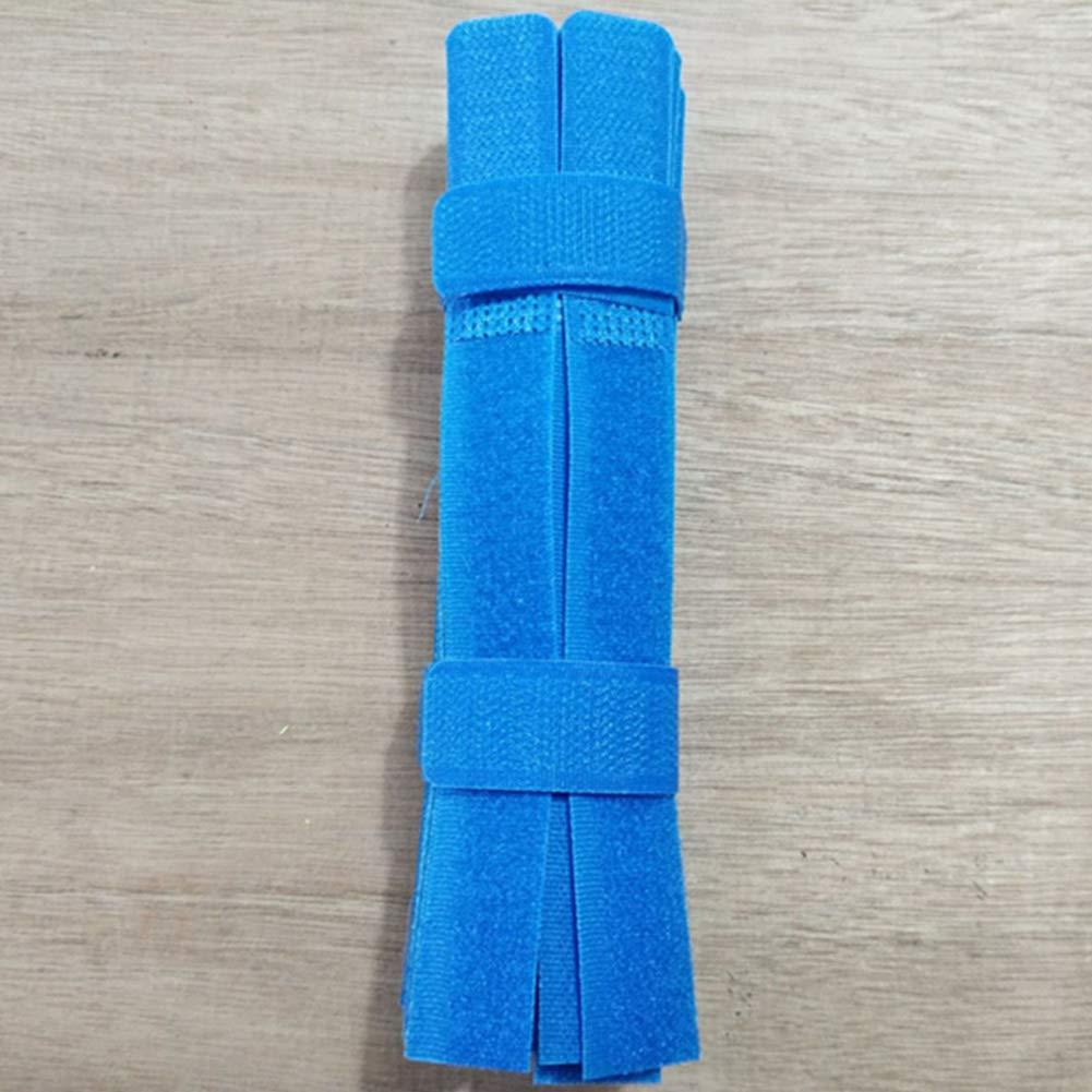nero 2 x 18 cm strisce ecologiche per cavi 50 fascette per cavi riutilizzabili con chiusura a strappo