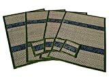 Best McCall's Blinds - Thai Elephant Pattern Handmade Dinner Reed Placemats Review