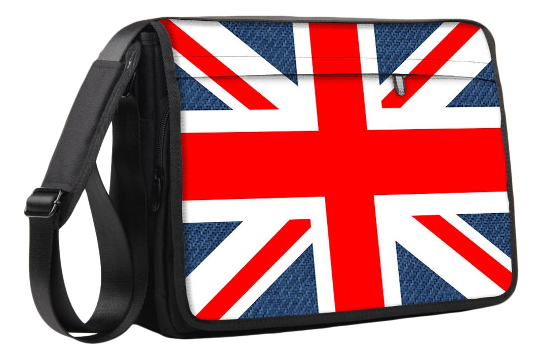 Luxburg 17 pouces Sac de Messager /à Badouli/ère de luxe pour ordinateur portable