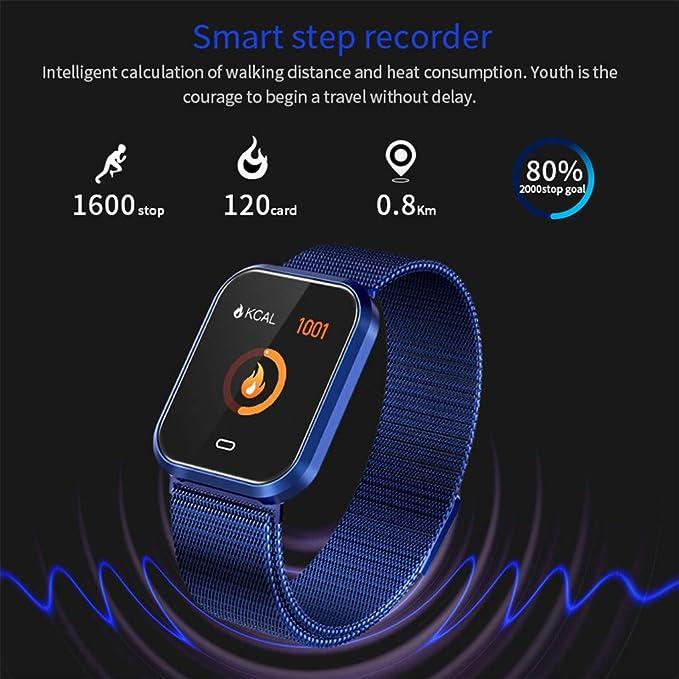 Javpoo Q7S Reloj Inteligente Frecuencia cardíaca Presión Arterial ...