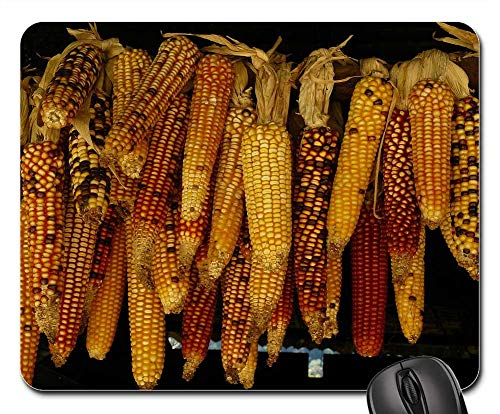 Mouse Pads - Food Crop Harvest Corn Kernels Hanging Row ()