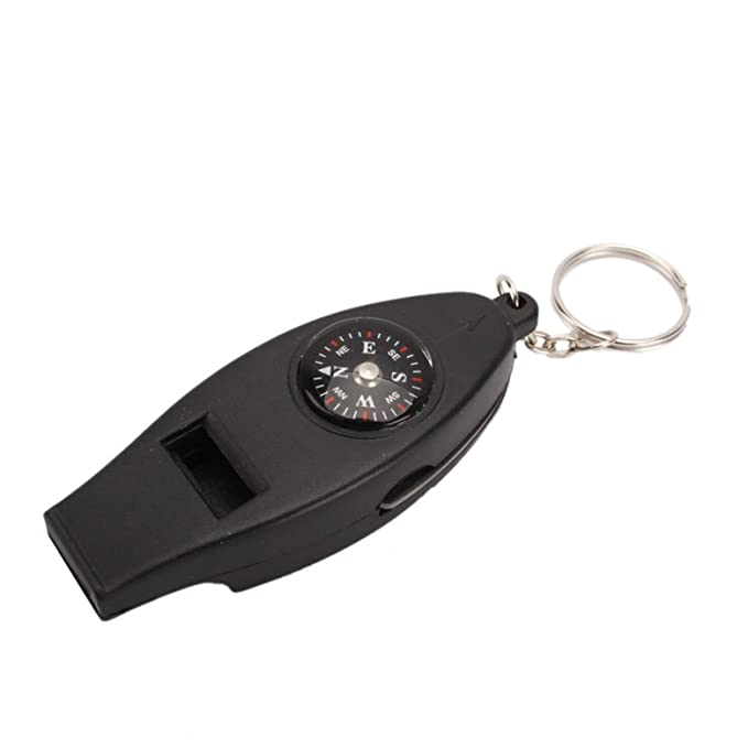 Mini Compass Magnifier Camping Survival Multifunction Pocket Outdoor Map
