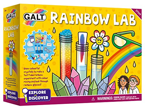 Galt Explore and Discover Rainbow Lab Science Experiment Kit