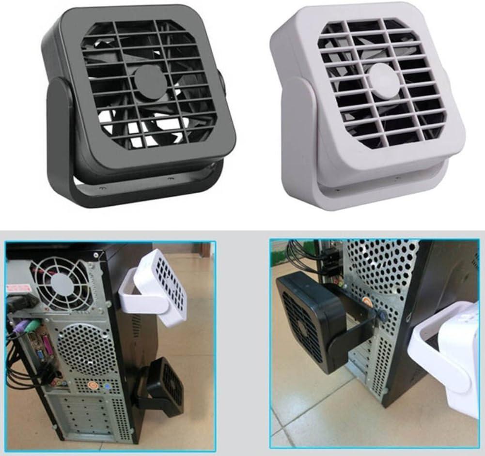 856store Fans Cooling Ultra-Quiet Mini 360 Rotating Flexible Radiator Magnet Fan USB Gadget Portable