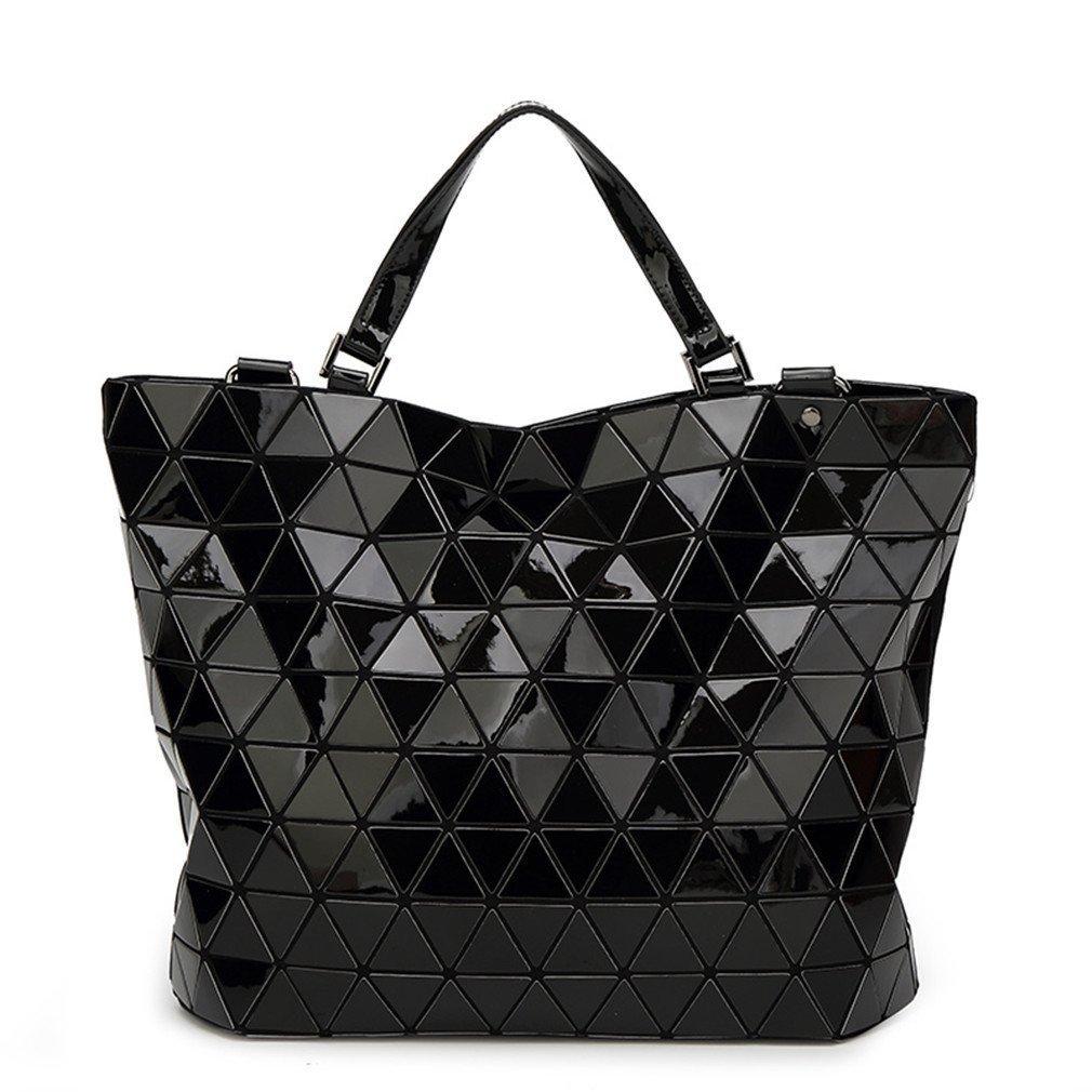 9400d3b81d16 Amazon.com: Bucket Bag Geometry Sequins Mirror Saser Plain Folding ...
