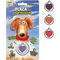 Fancy Pets Placa para Mascota, Corazon en Circulo