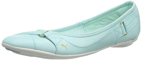PUMA Damen Bixley Shine WN's Geschlossen, Türkis (Blue Light
