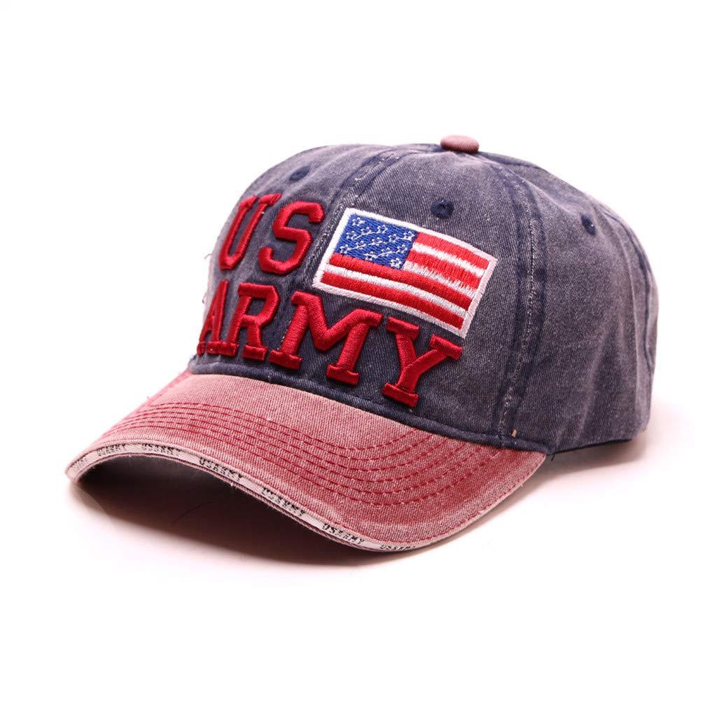 muium 1pcs Gorra de béisbol Sombrero de Moda de algodón Bordado ...