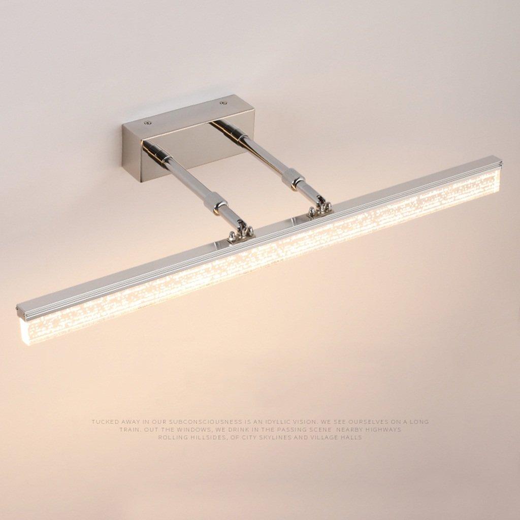 &Spiegelleuchte LED-Spiegel-Licht, Badezimmer-einfaches Badezimmer und modernes Make-uplicht 1,5 Meter lange Lampe (Farbe   Warmes Licht-8W 40CM)
