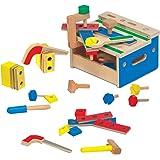 Melissa & Doug - Mini caja de herramientas (19386)