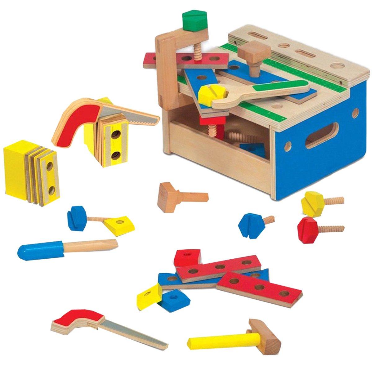 Melissa  Doug Mini caja de herramientas