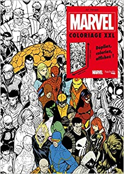 marvel coloriage xxl french paperback 15 apr 2015