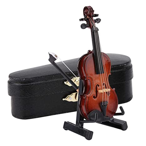 Modelo de violín en Miniatura con Estuche de Soporte ...
