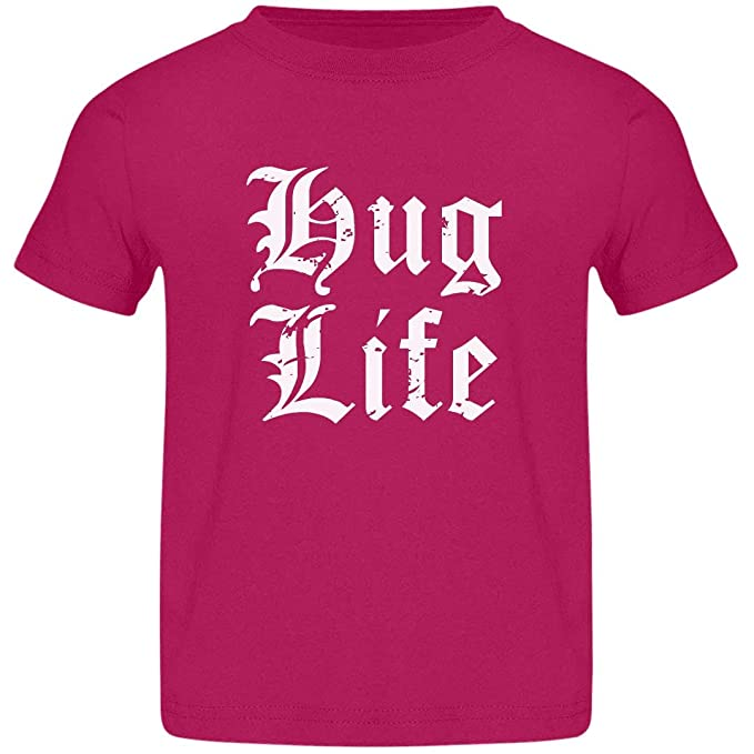 6e6e9f0a Amazon.com: Customized Girl Cupid's Hug Life: Jersey Toddler T-Shirt ...