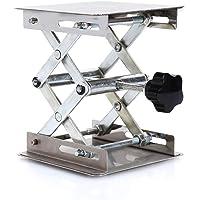 Plataformas elevadoras de laboratorio Soporte para bastidores Tijera