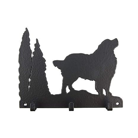 Schl/üsselbrett Tierisch-tolle Geschenke Bullterrier Leinengarderobe Garderobe mit Hundemotiv