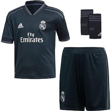 adidas Real Madrid 2018/2019 Camiseta y Pantalón 2ª Equipación, Niños: Amazon.es: Deportes y aire libre