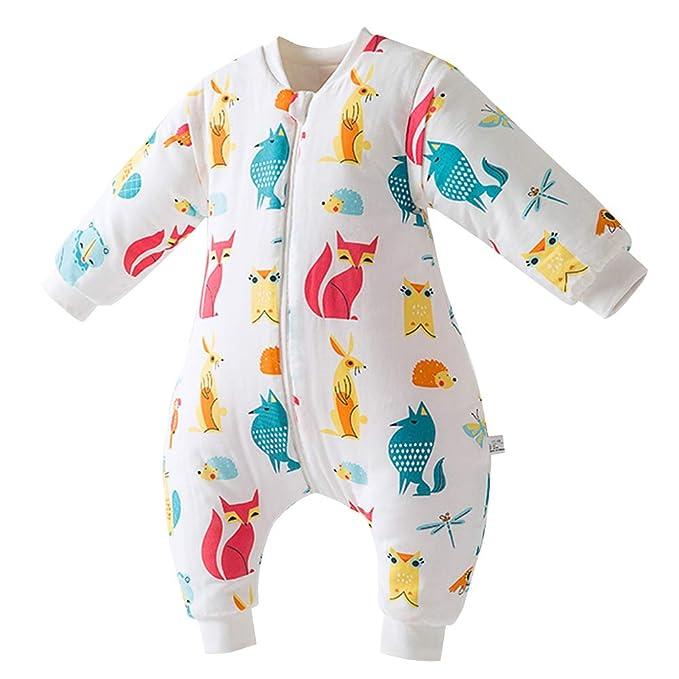 Happy cherry - Saco de Dormir Acolchado de Acolchado de Algodón para Bebé para Invierno Bolsa