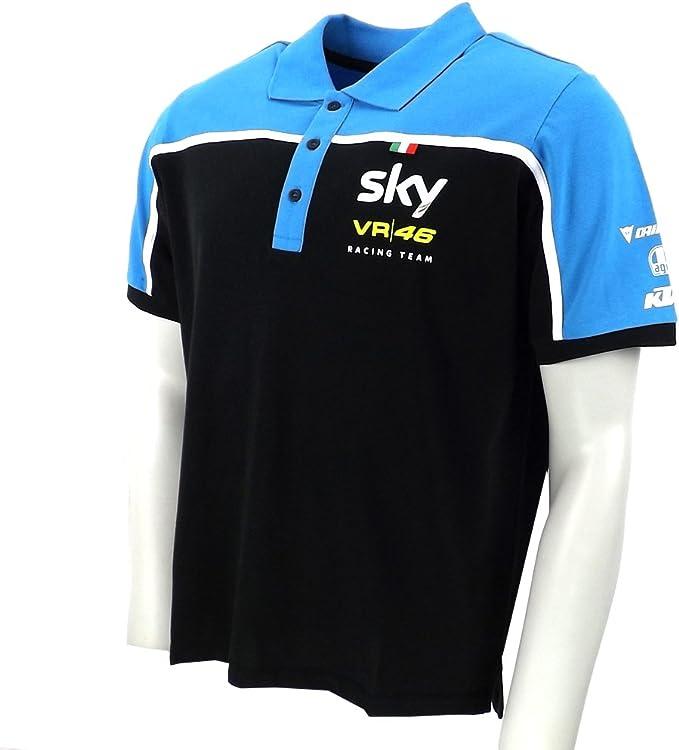 Valentino Rossi VR46 Sky Team Replica Moto 3 GP Polo camiseta ...