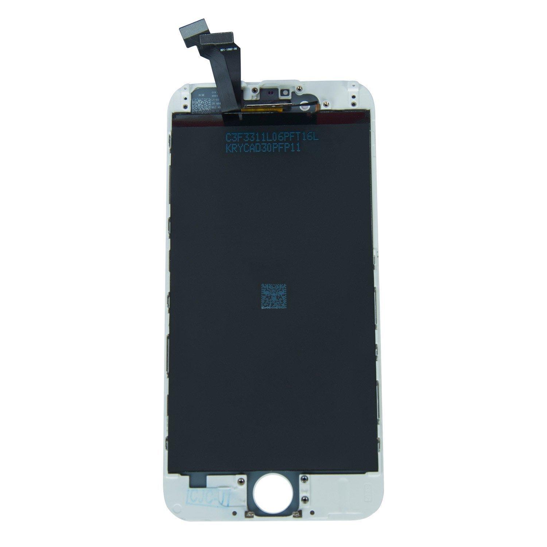 Blanco Xlhama Pantalla T/áctil LCD Reemplazo para iPhone 5S//SE con Kit Herramientas+Pel/ícula de Vidrio Templado+Instrucciones
