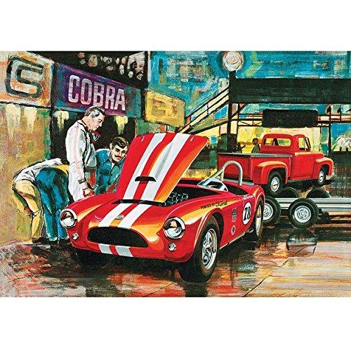 (AMT1073/06 1/25 Cobra Racing Team Shelby Cobra/'53 Ford)