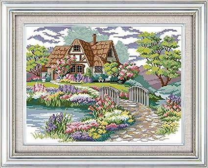 Home & Garden Counted Cross Stitch 14ct Cross Stitch Set Cross-stitch Kit Embroidery Needlework Similar Dim India Girl