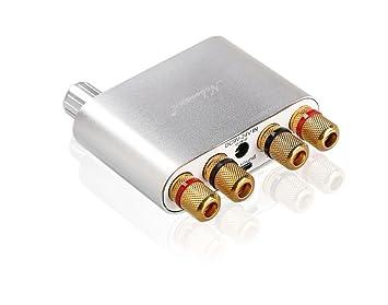 nobsound NS de 10g Mini Bluetooth 4.0 Digital Amplificador; 100 W HiFi Amp con fuente