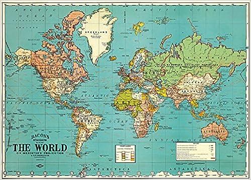 Amazon world map decorative paper spanish edition amazon world map decorative paper spanish edition 9781619920514 varios books gumiabroncs Gallery