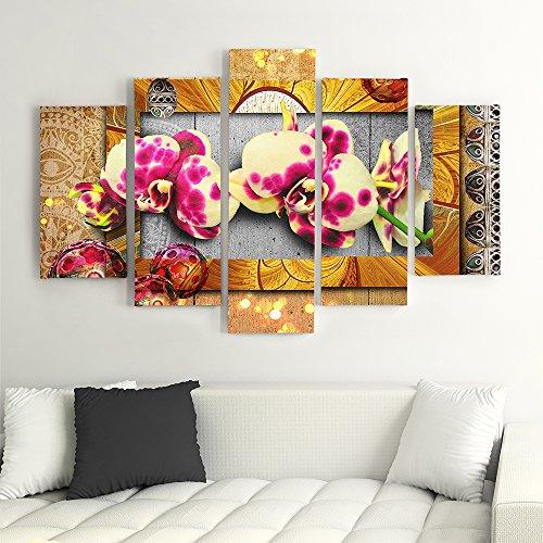 Très Frames, Tableau multi panneau 5 parties - Grand Format, Tableau  GN49