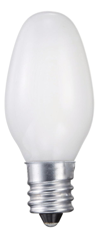 Philips 415471 Night Light 7-Watt C7 Candelabra Base Light Bulb, 2-Pack