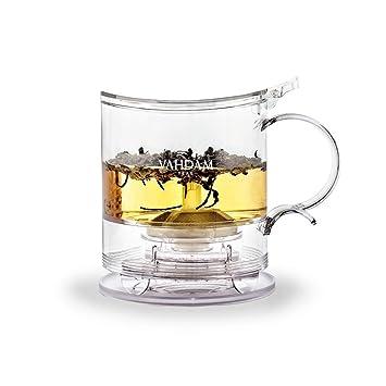 c7bcaef40f9 VAHDAM, Imperial Tea Maker, 16 oz, Bottom Dispensing Tea Pot | 100% SAFE -  FDA APPROVED - BPA...