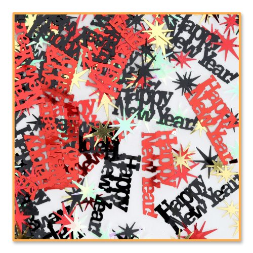 Beistle Cn176 1 Pack Decorative Happy New Year Confetti For Parties