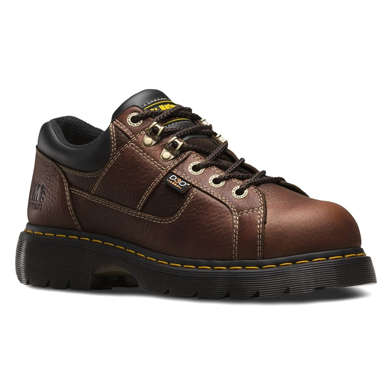 Dr. Martens Men's Gunby Steel Toe Leather Work Boots