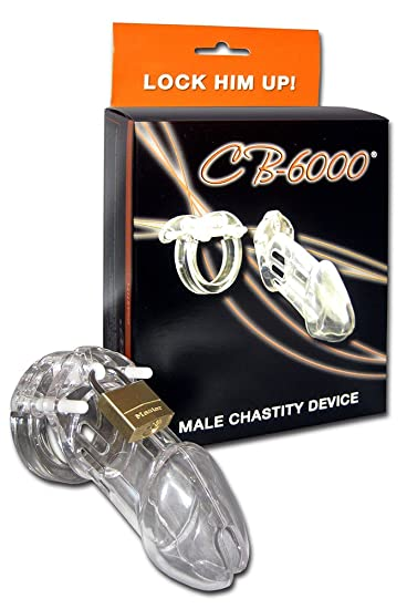 CB-6000 Male Chastity Device, Clear