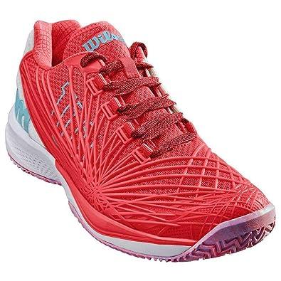 Wilson Kaos 2.0 W, Zapatillas de Tenis para Mujer, Naranja (Fiery ...