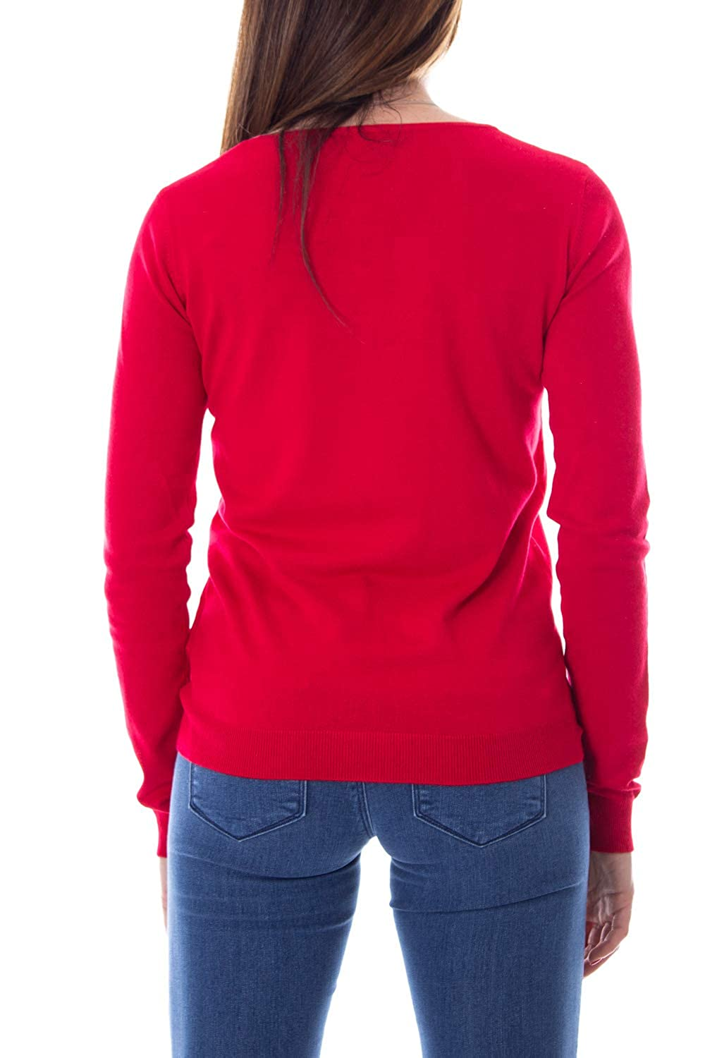 GUESS Woman Jersey micol Sweater w93r58z2760 xs red
