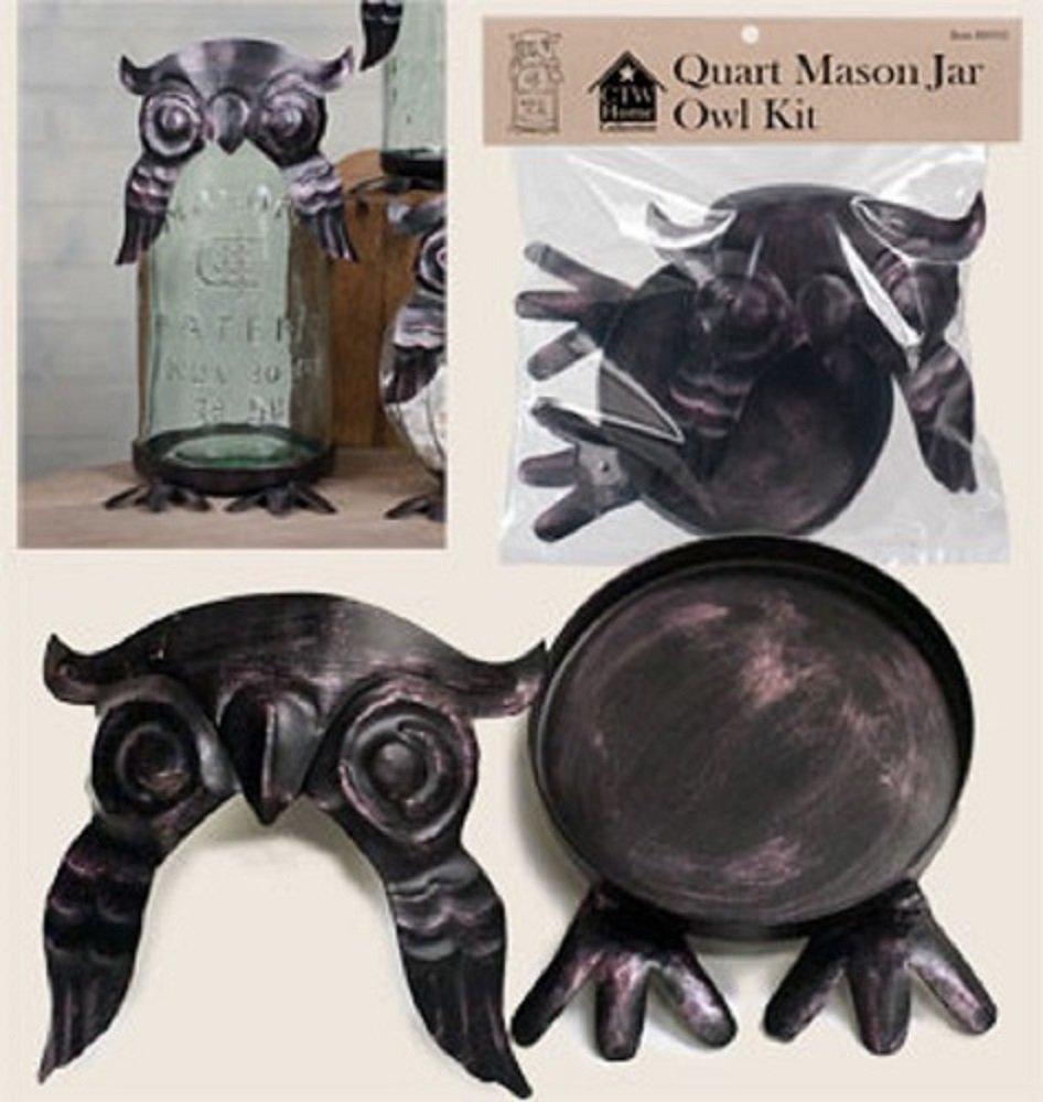 CTW Owl Kit for a Quart Mason Jar