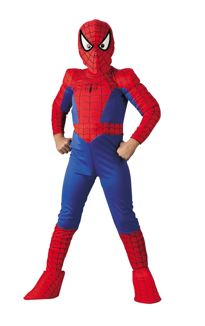 Amazon.com  Spider-Man Deluxe Child Costume  Size 10-12  Toys   Games 68f7d911b374d