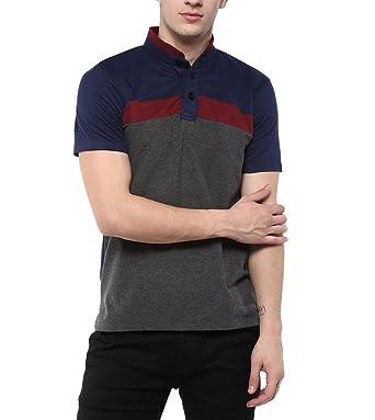 0696da73b Urbano Fashion Men's Navy, Maroon, Grey Half Sleeve Cotton Chinese ...