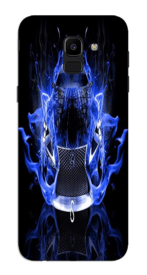 Gadgets Wrap Blue Fire On Car High Definition Wallpaper Amazon In