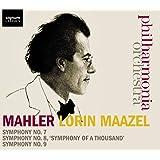 Mahler : Symphonies N°7, N°8, N°9