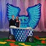 Shindigz 9 ft. 3 in. Electric Carnival Owl Photo Op
