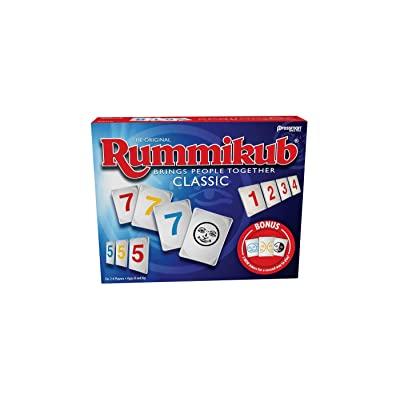 Rummikub with Bonus Jokers Game, Classic, Pressman: Toys & Games